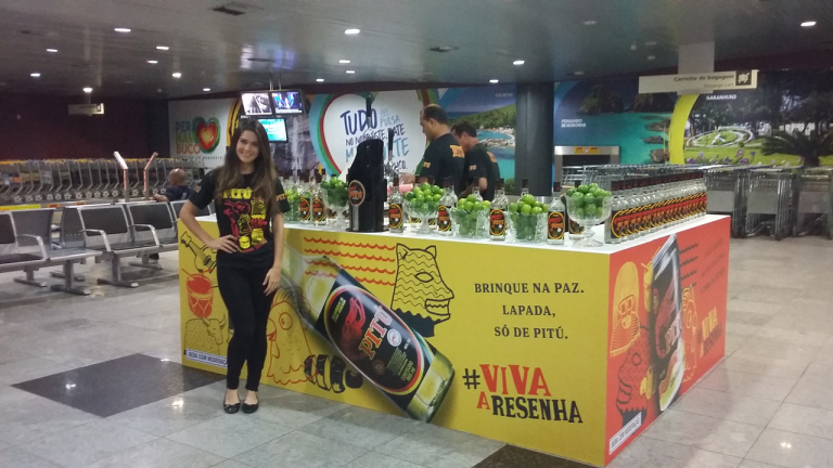 Pitu Caipirinha at Recife International Airport