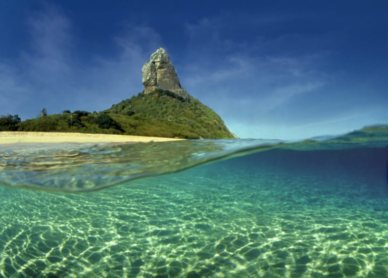 FERNANDO DE NORONHA ISLAND. THE CRADLE OF SUGAR CANE IN BRAZIL.
