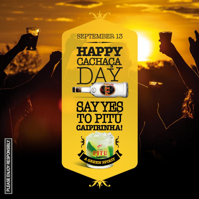 """Happy """"Cachaça"""" Day!"""
