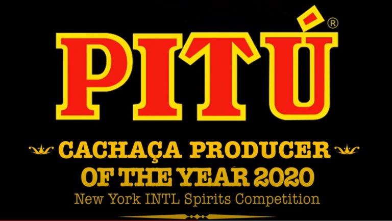 Pitú is Cachaça Producer of the Year 2020