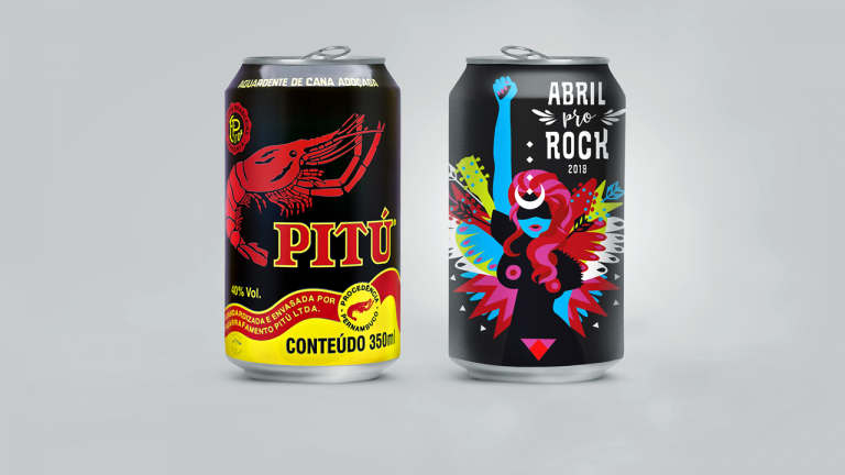 "Pitu cans illustrate ""Abril pro Rock 2019 Festival"""